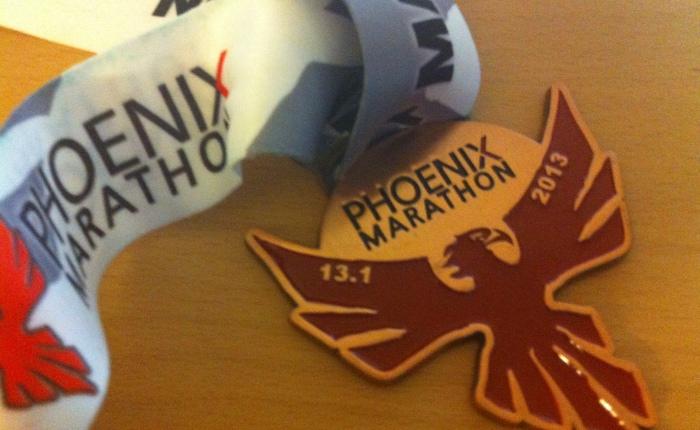 Phoenix Half Marathon2013